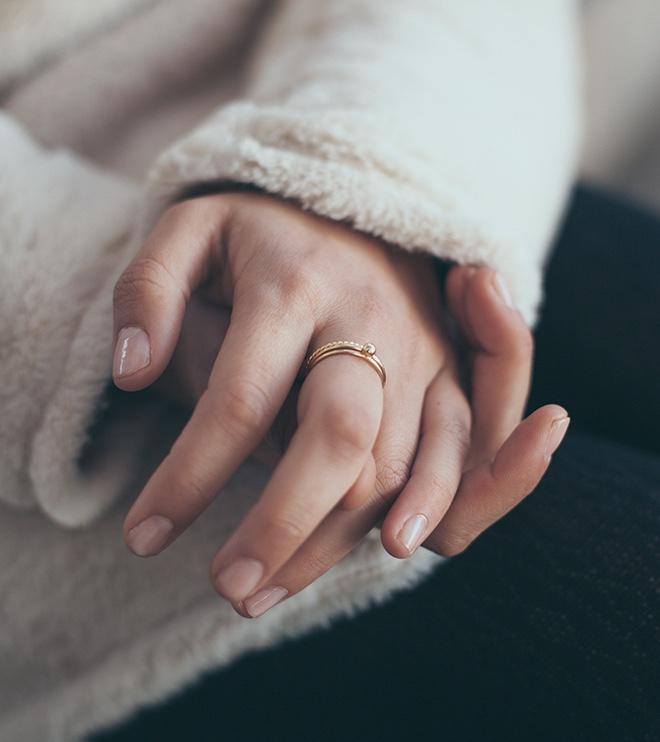 anillos oro sliim