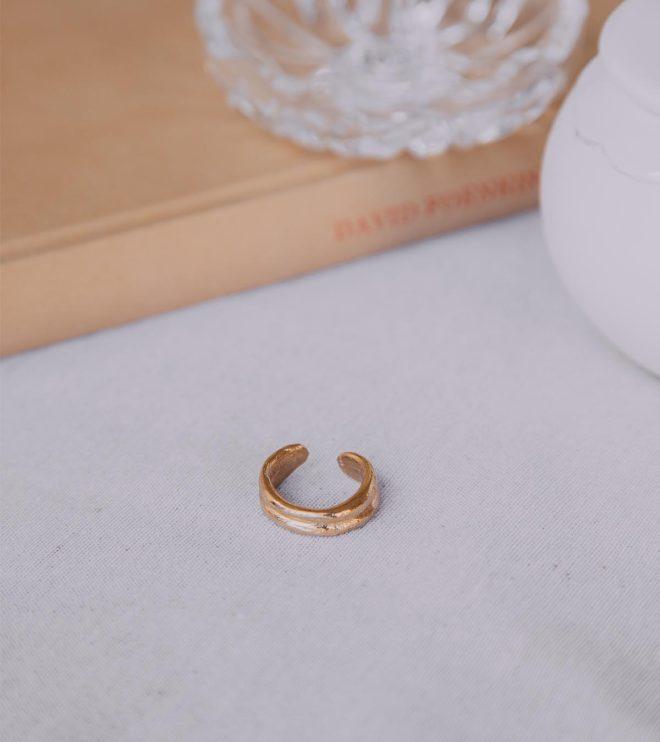 anna joya anillos doble oro