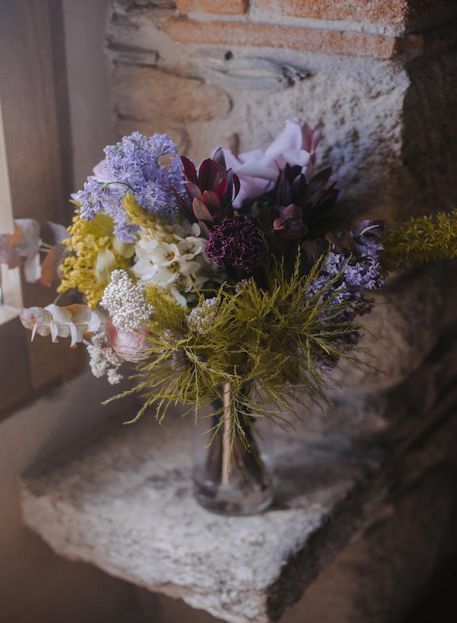 ramo de flores silvestre de novia de cottage barcelona