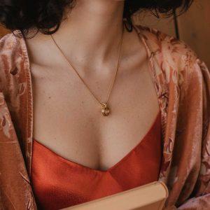 Colección de joyas anna, colgante en oro