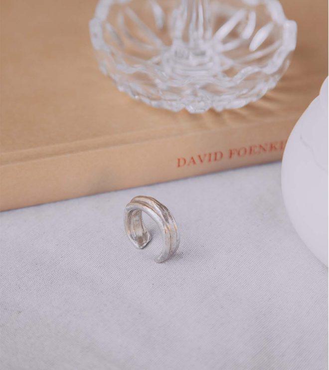 anna joya anillo triple plata